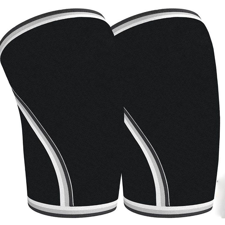 Knee Sleeves (1 Pair) Support & Compression for Weightlifting, sbr- 7mm Neoprene Sleeve for the Best Squats