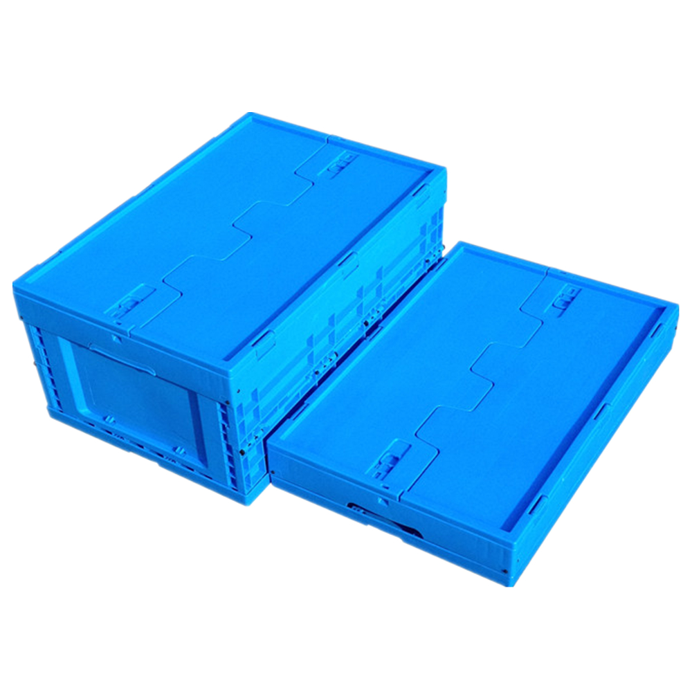 Collapsible Plastic box storage plastic container with lid