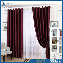 Restaurant &office 230gsm Embossed window curtain blackout