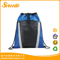 wholesale durable polyester drawstring backpack bag for sport