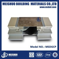 Durable slab plate concrete flooring brass expansion joint cover in building
