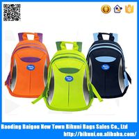 Custom school backpack bags kids back pack with Reflective stripe