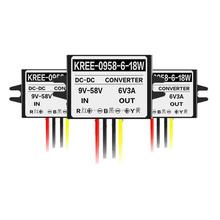 9-58v 9v 11v 10v 12v 24v 36v 21v 48v to 6v 3A 18w dc dc converter for led light