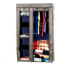 out standing non-woven cloth wardrobe Waterproof portable wardrobes Foldable fabric bedroom closet Home storage closet