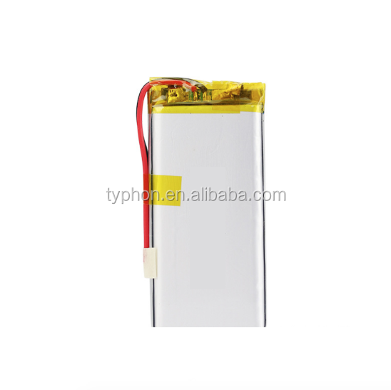 CE MSDS ROHS approved 602897 rechargeable lithium ion polymer cell with PCM Wire 3.7v 1800mah lipo battery for story