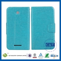 Newest Style Factory Direct OEM Colored protective flip kickstand case for lenovo p78