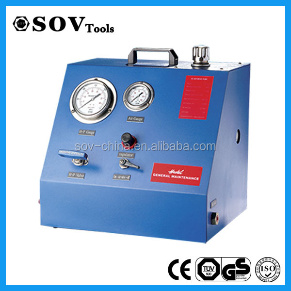 700Bar to 4000Bar Super High Pressure Air Driven Hydraulic Pump Station