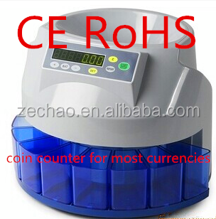 value coin counter high quality money counter support OEM cash register hot selling bill counter CE ROHS approval sorter