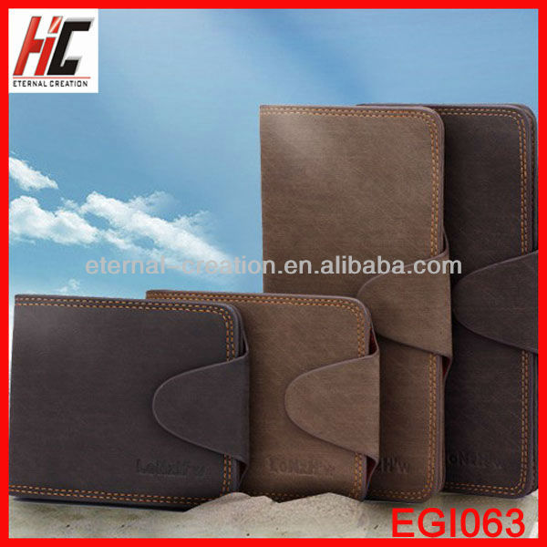 Best Selling Products 2013 Unique Design High Quality Wholesale Men Leather Wallet for Men's Leather Purses Long/Short