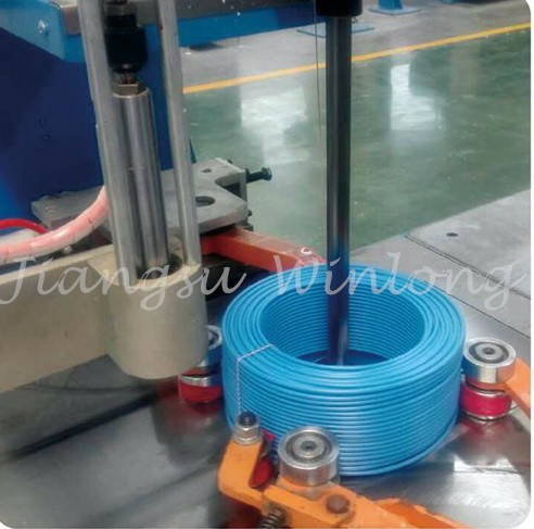 Automatic Wire coil Winding and binding Machine/ Cable making equipment /Wire winding packing machine