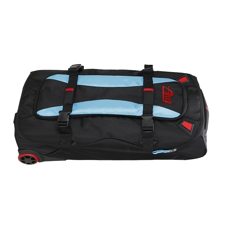New style racing gear bag with wheels