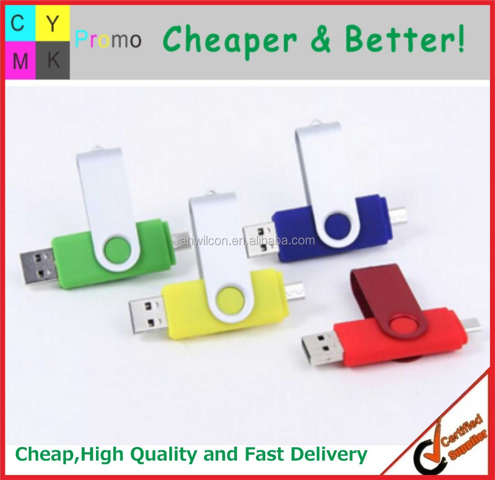 2016 Customized logo Printed Promotional OTG USB Flash Drive