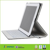 Hot Sale high quality Folio Bluetooth Keyboard leather Case for iPad Air