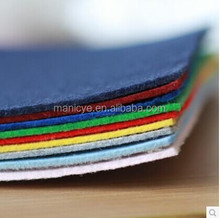 colourful polyester felts 1mm 2mm 3mm