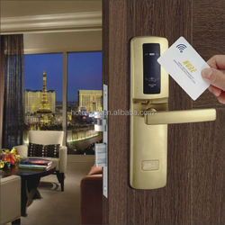 new design nfc hotel contactless card door lock