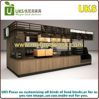 The best selling food kiosk/ Outdoor fast food kiosks /Container coffee shop design