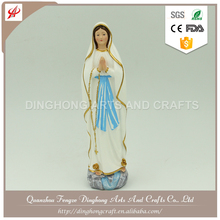 Resin Factory Decorative Manufacture Mary Statue