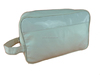 large white pu handle cosmetic bag / Wholesale Waterproof makeup bag / Hanging Travelling wash bag For Traveller
