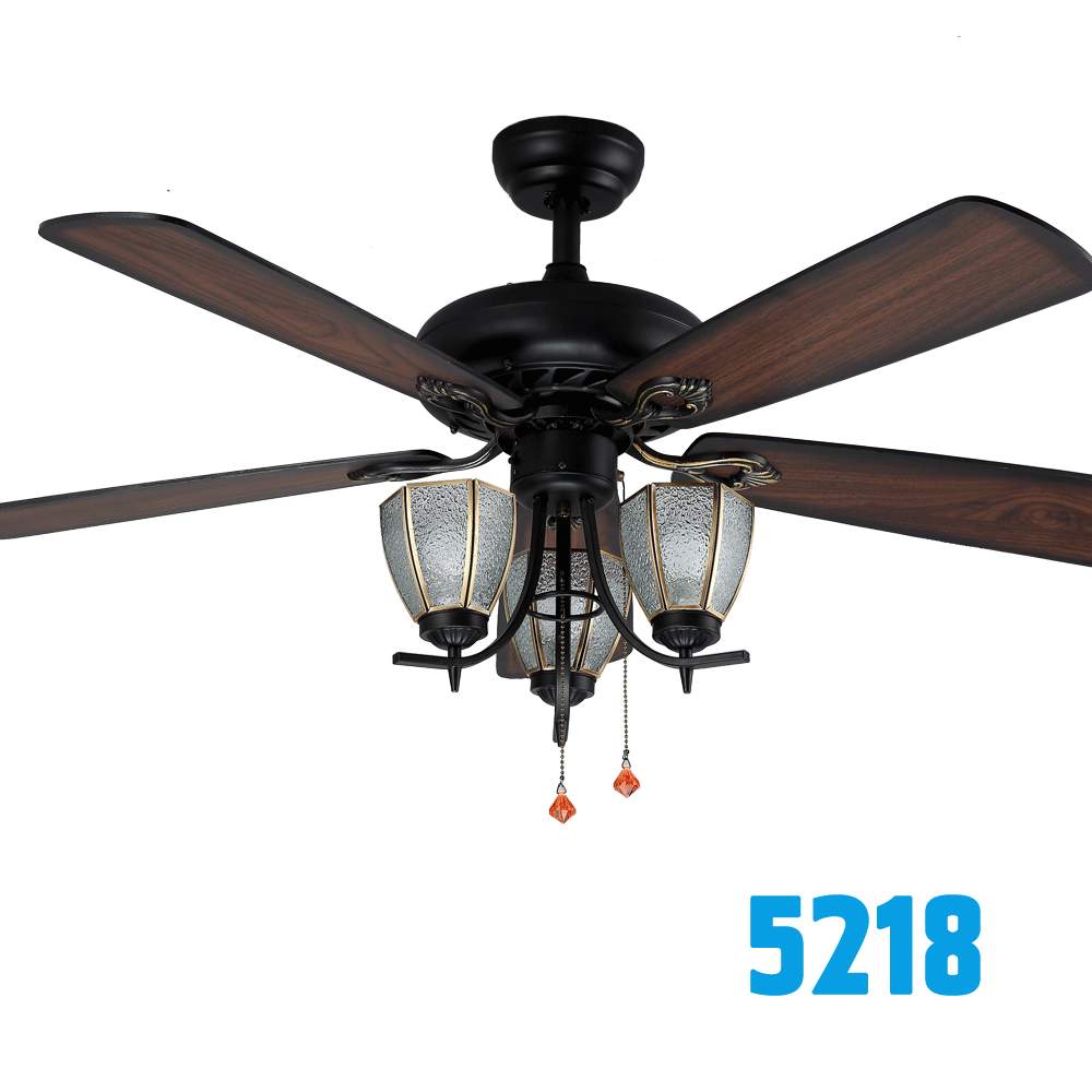 Direct Factory Electric Chandelier Ceiling Fan With Light