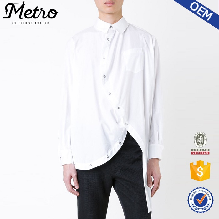 New model man cool shirts slim fit white dress shirts Buy white dress shirt