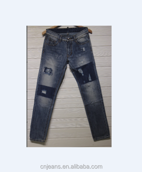 GZY lovely jeans men jeans stiched jeans