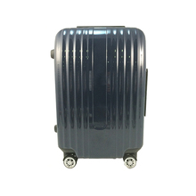 Metal Frame Hard Shell Plastic Urban Trolley Luggage Suitcase