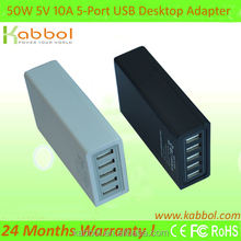 ic charger laptop power adapter for tablets,smartphones 5 port portable usb hub