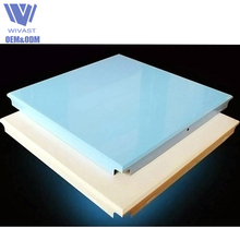 New Arrival building materials 600X600 clip-in office aluminum false ceiling