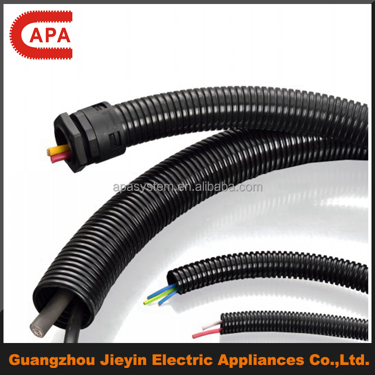 polyamide/PA/Nylon plastic flexible conduit/pipe/cable cover, UL certificate