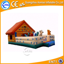 Special design inflatable bouncer house/indoor mini bouncy castle/inflatable animal bouncers
