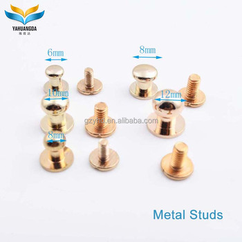 low price wholesale fashion silver brass metal claw studs for fabric
