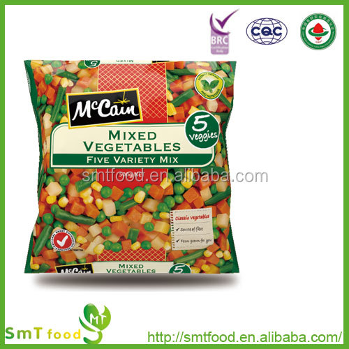 new crop organic low price chinese frozen mixed vegetable