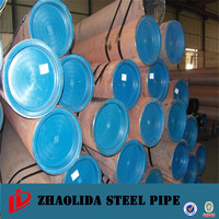 steel water pipe ! 10mm thick wall steel pipe schedule 40 seamless tube