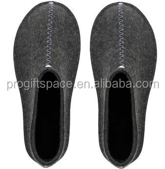 high quality new design wool felt winter home slipper for man woman child import china OEM ODM