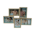 Home Profiles Puzzle Collage Picture Frame, 5 Option, 5 -4x6