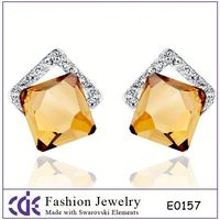 Wedding Decoration 14K Solid Gold Earring
