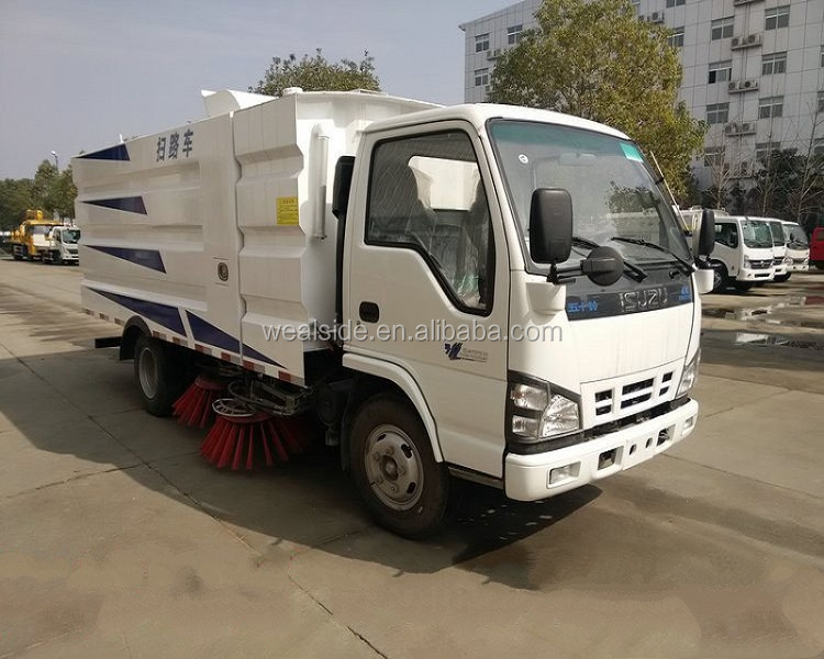 road sweeper,street sweeper diesel engine ISUZU truck truck for sale