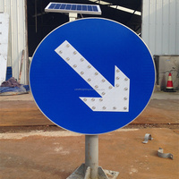 used outdoor LED Signal Boards Directional Traffic Lights Arrow Sign
