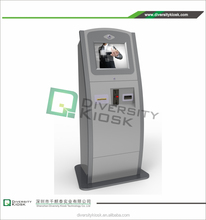 discount coupon ticket kiosk economic hot card reader and issuing