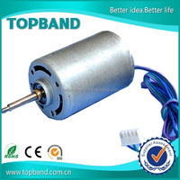 Ironless brush 12v bldc dc motor for electric vehicle