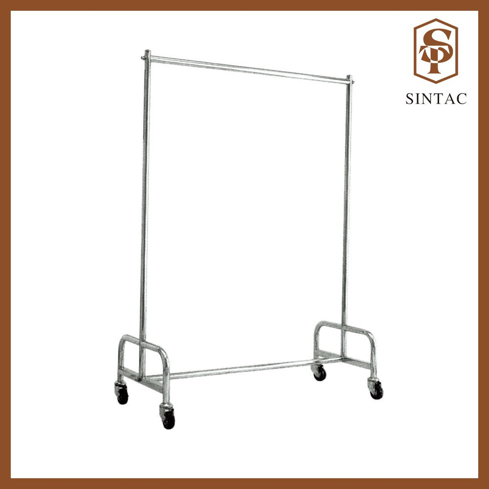 Removal Housekeeping Uniform trolley stainless steel