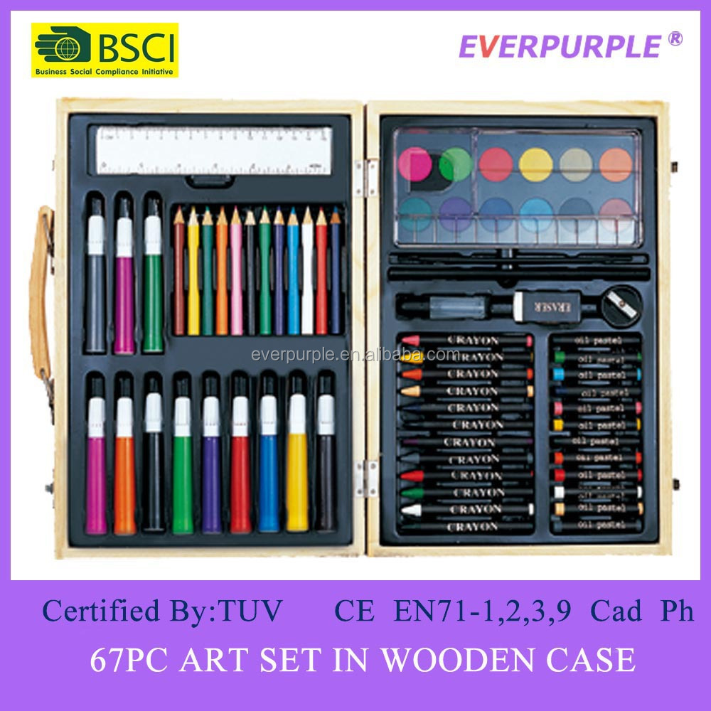 68PC Art Set, Plastic Packing Art Set,Art Set For Kids
