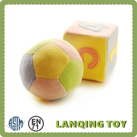 Colorful Stuffed Soft Plush Ball Baby Toy