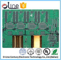 multilayer pcb green ul 94v0 pcb manufacturer