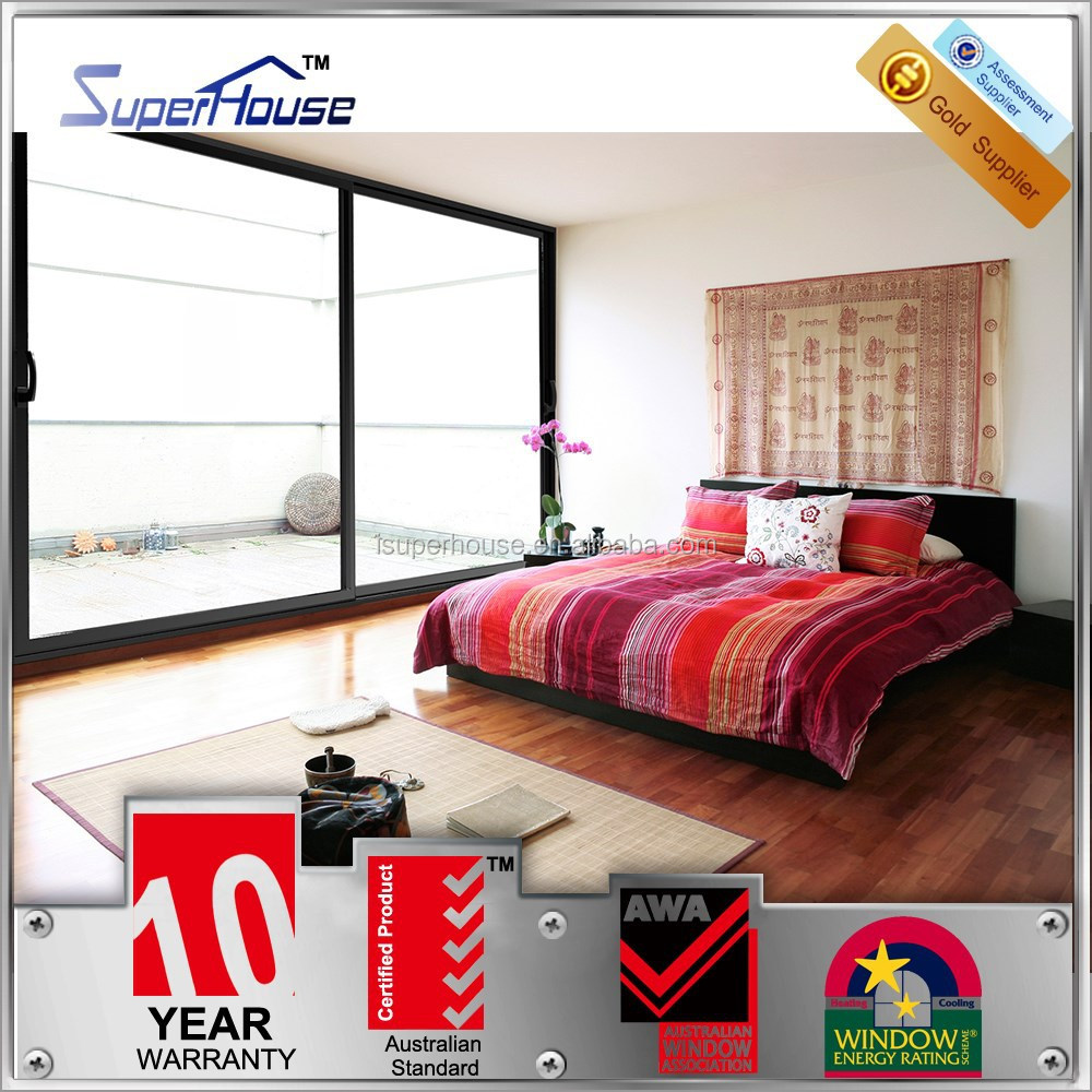 standard soundproof double glass bedroom sliding door buy bedroom