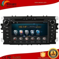 Wecaro best price android 4.4 car radio old f ord f ocus car dvd player
