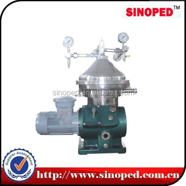 SINOPED high effecient Oil-water-solid Disc Stack Centrifuge Separator/purifier