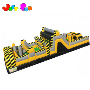 toxic commercial inflatable obstacle course, cheap inflatable play mat for kids and adults
