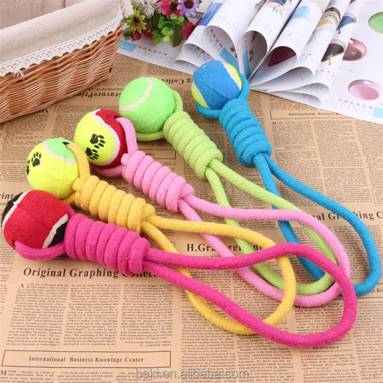 Pet Dog Toy Throw Pet Toy Ball Funny Tennis Ball Dog Toy