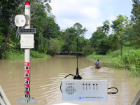 water pressure alarm level detection and warning system